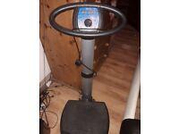 Vibration/weight loss toning plate machine