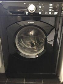Hotpoint black washing machine