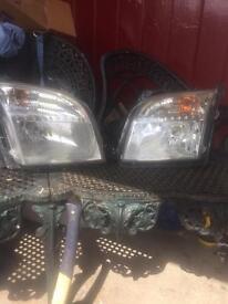 Ford Fusion headlights