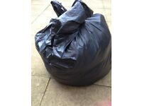 Black Bag of Men's clothes..., Size large