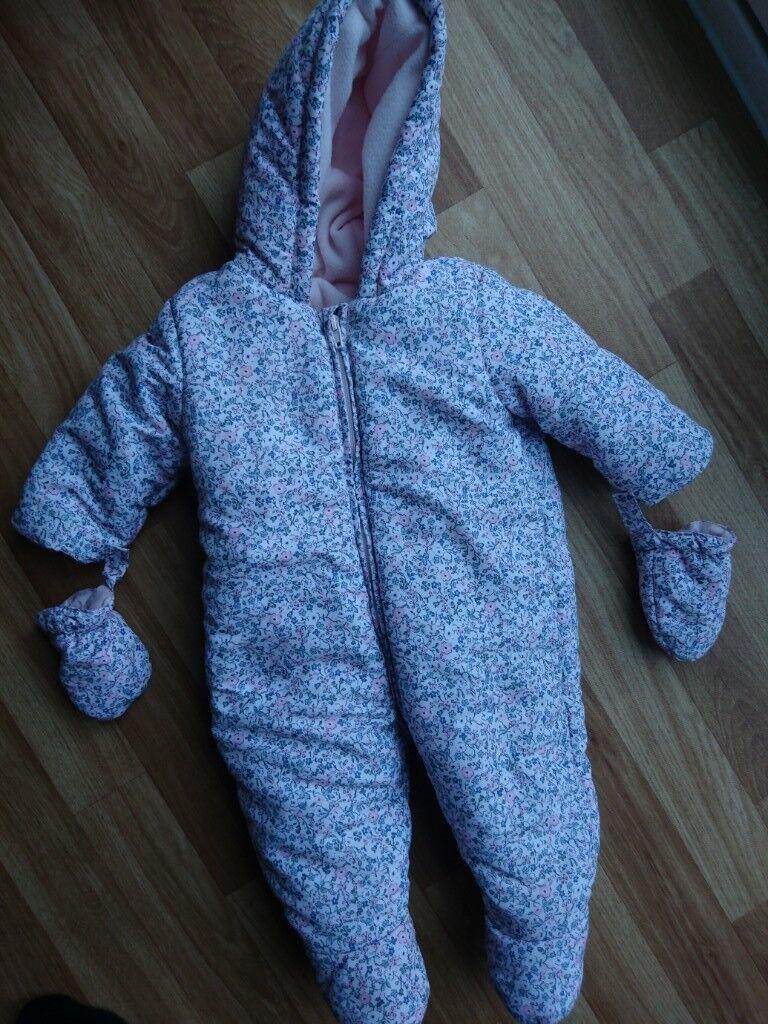 7f459a125 Baby girl snowsuit | in Weston-super-Mare, Somerset | Gumtree