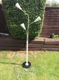 Ikea Floor Standing Light - Roughly Painted - Working - PO6 Portsmouth