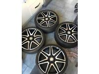 Mercedes Benz Genuine E Class AMG 19 Inch Alloys with Pirelli Tyres - From Premium Plus Model