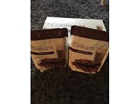 4 x Juice Plus Chocolate shakes pouches