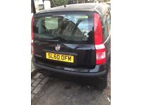 Black fiat panda one family owned from new