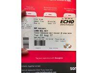 Lana del rey concert ticket: Liverpool