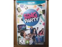 Wii U Sing Party Set includes Microphone