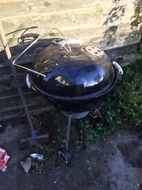 Webber kettle BBQ (coal)