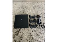 PS4 Pro 1TB + 3 Controllers (Unboxed)