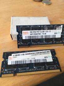 2 GB toRX8PC2 RAM chips
