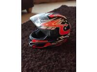Nitro Adult Motorcycle Helmet