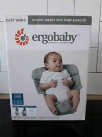 Ergobaby carrier infant/newborn insert
