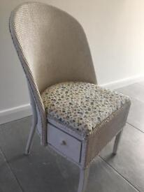 Loom style /wicker chair for up- cycling