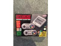 Nintendo SNES mini (new) £180 ono