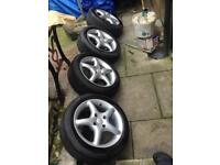 Alloys wheel for 306 4 by 108