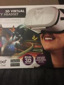 3D Virtual reality headset brand new,vr headset is Compatible with most smartphones/iphones