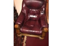 Chesterfield sofa and 2 chairs