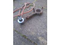 Heavy duty gas ring