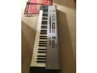 Roland RS 50 - synth and midi controller - the audio is glitchy but a great midi controller