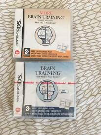 NIntendo DS Brain Training Games
