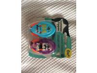 2 Tommee Tippee soother holders - great as stocking filler