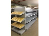 Shop Shelving complete Gondola bays to fit any shops