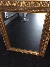 Gold Effect Mirror