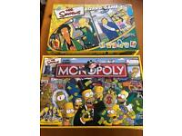Simpson's monopoly and Simpson's board game