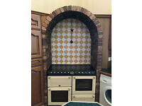 Kitchen units and arch for sale