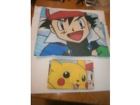 Single 'Pokemon Quilt Cover and Pillowcase'