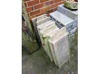 Paving slabs 2x1ft
