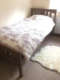 SOLD Single Bed with Mattress