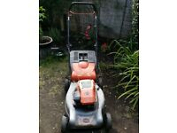 Briggs and Stratton petrol lawnmower