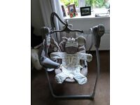 Electric baby swing (battery operated)