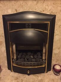 Gas fire, excelent working order and recently gas safe checked