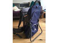 Vaude child back pack carrier