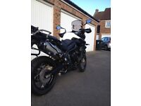61 Plate Triumph Tiger XC. Beautiful condition and low miles.