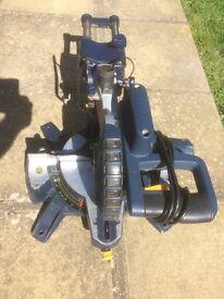 Macallister 1400w 210mm Slide Compound Mitre Saw