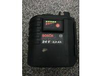 Bosch 24 v 3 ah batery