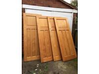 1930s Wooden Doors x4