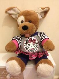 Build a bear dog and outfit