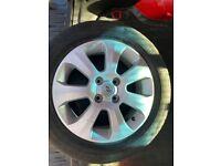 Vauxhall corsa alloys 4 stud