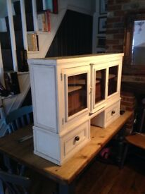 Shabby chic vintage cupboard