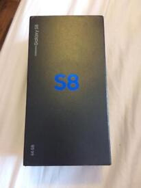 BRAND NEW SAMSUNG GALAXY S8 ORCHID GREY EE