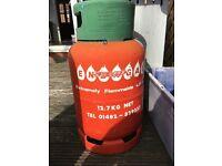 Empty gas bottle propane energas 11kg