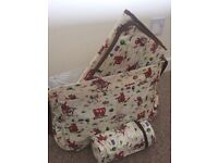Cath kidston cowboy changing bag with all extras
