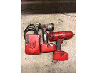 Snap on 1/2 inch impact gun and work lamp