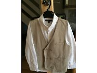 Boy's Three piece Linen suit