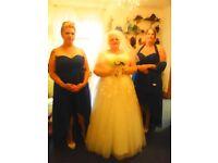 Ivory Coloured Wedding Dress plus size