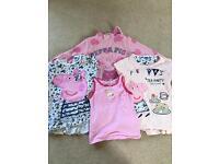 Girls 3-4 years Peppa Pig bundle